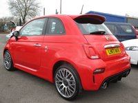 USED 2017 17 ABARTH 500 1.4 595 3d 144 BHP 0 - 60 MPH IN ONLY 7.8 SECONDS