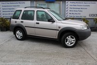 USED 2001 X LAND ROVER FREELANDER 2.5 V6I ES STATION WAGON 5d AUTO 175 BHP