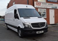 2016 MERCEDES-BENZ SPRINTER 2.1 313 CDI Lwb High Roof 129 BHP £11949.00