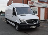 2016 MERCEDES-BENZ SPRINTER 2.1 313 CDI Lwb High Roof 129 BHP £11449.00