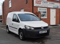 2014 VOLKSWAGEN CADDY 1.6 C20 TDI STARTLINE BLUEMOTION TECHNOLOGY 102 BHP £6249.00