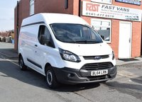 2015 FORD TRANSIT CUSTOM 2.2 290 L2 H2 LWB HIGH ROOF 100 BHP £8749.00