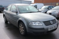 USED 2004 04 VOLKSWAGEN PASSAT 1.9 S TDI 4d 99 BHP *PX CLEARANCE - NOT INSPECTED - NO WARRANTY - NOT AVAILABLE ON FINANCE - NO PX TAKEN*