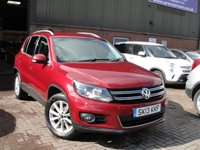 USED 2013 13 VOLKSWAGEN TIGUAN 2.0 SE TDI BLUEMOTION TECHNOLOGY 4MOTION 5d 175 BHP ANY PART EXCHANGE WELCOME, COUNTRY WIDE DELIVERY ARRANGED, HUGE SPEC