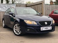 USED 2010 60 SEAT EXEO 2.0 SE TECH CR TDI 5d 141 BHP 6 MONTHS WARRANTY INCLUDED