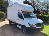 USED 2015 65 MERCEDES-BENZ SPRINTER 313 CDI 2.1 313 CDI LWB LUTON WITH TAIL LIFT