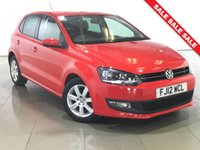 USED 2012 12 VOLKSWAGEN POLO 1.2 MATCH 5d 59 BHP Ideal First Car/Air Con