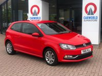 USED 2015 VOLKSWAGEN POLO 1.4 SE TDI BLUEMOTION 3d 74 BHP 1 OWNER | ALLOYS | AIR CON |