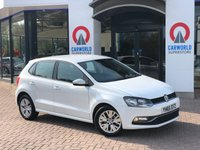 USED 2016 65 VOLKSWAGEN POLO 1.4 SE TDI BLUEMOTION 5d 74 BHP 1 Owner/Bluetooth/DAB/Air Con