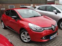 USED 2016 66 RENAULT CLIO 1.1 DYNAMIQUE NAV 16V 5d 73 BHP ANY PART EXCHANGE WELCOME, COUNTRY WIDE DELIVERY ARRANGED, HUGE SPEC