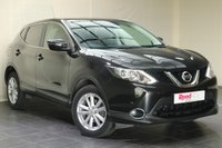 "USED 2015 15 NISSAN QASHQAI 1.5 DCI ACENTA PLUS 5d 108 BHP NAV + PAN ROOF + 17"" ALLOYS + CLIMATE CONTROL + PARKING SENSORS"