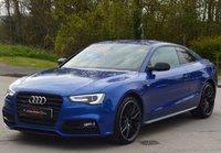 USED 2015 15 AUDI A5 2.0 TDI QUATTRO BLACK EDITION PLUS 2d AUTO 174 BHP ** SEPANG BLUE ** ** SAT NAV **