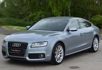 USED 2010 P AUDI A5 2.0 SPORTBACK TFSI S LINE 5d 178 BHP BIG BIG SPEC. TRULY STUNNING THROUGHOUT.