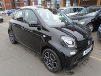 USED 2015 15 SMART FORFOUR 1.0 PRIME 5d 71 BHP ULEZ EXEMPT 24,000 MILES, SUNROOF, LEATHER