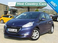 USED 2013 63 PEUGEOT 208 1.4 ACTIVE HDI 5d 68 BHP Previously Sold By Ourselves