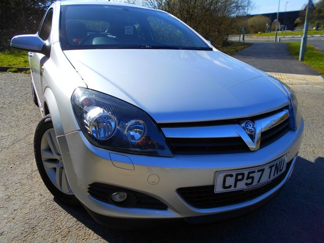 2008 57 VAUXHALL ASTRA 1.6 SXI 3d 115 BHP ** SXi COUPE , YES ONLY 46,413 MILES FROM NEW  **