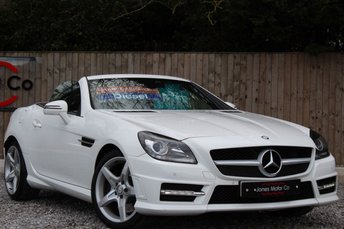 2013 MERCEDES-BENZ SLK 2.1 SLK250 CDI BLUEEFFICIENCY AMG SPORT 2d 204 BHP £13995.00