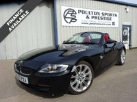 USED 2007 BMW Z4 2.0 Z4 SPORT ROADSTER 2d 148 BHP + RED LEATHER + HEATED SEATS