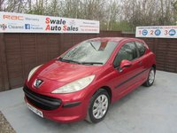 USED 2007 07 PEUGEOT 207 1.4 URBAN 3d 73 BHP FINANCE AVAILABLE FROM £21 PER WEEK OVER TWO YEARS - SEE FINANCE LINK FOR DETAILS