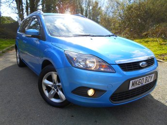 2010 FORD FOCUS 1.6 ZETEC TDCI 5d 109 BHP ** DIESEL, ESTATE, £30 ROAD TAX ,YES ONLY 64K, STUNNING CAR THROUGHOUT ** £4995.00