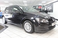USED 2013 13 VOLKSWAGEN GOLF 1.6 TDI S B/M/T 105 BHP ONLY 2 FORMER KEEPERS B/T DAB