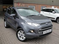USED 2015 65 FORD ECOSPORT 1.5 ZETEC TDCI 5d 94 BHP ANY PART EXCHANGE WELCOME, COUNTRY WIDE DELIVERY ARRANGED, HUGE SPEC