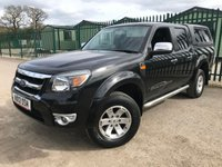 2012 FORD RANGER 2.5 THUNDER 4X4 DCB TDCI 1d 143 BHP NO VAT ALLOYS PRIVACY LEATHER SIDEBARS A/C MOT 03/20 £9900.00