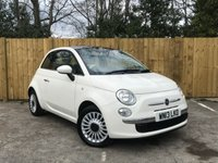 USED 2013 13 FIAT 500 1.2 LOUNGE 3d 69 BHP Full Service History, Air Con