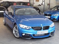 USED 2016 16 BMW 4 SERIES GRAN COUPE 2.0 420D M SPORT GRAN COUPE 4d AUTO 188 BHP M PERFORMANCE STYLING+PRO NAV