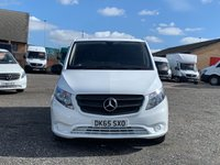 USED 2015 65 MERCEDES-BENZ VITO 1.6 111 CDI FACELIFT LONG LWB LWB, FACELIFT, 38K MILES, ONE OWNER, FULL DEALER HIST,