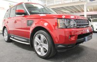 USED 2013 13 LAND ROVER RANGE ROVER SPORT 3.0 SDV6 HSE LUXURY 5d AUTO 255 BHP **LUXURY PACK+TV+IVORY LEATHER**