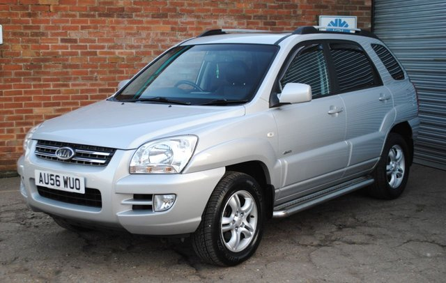 2006 56 KIA SPORTAGE 2.0 XS CRDI 5d 139 BHP