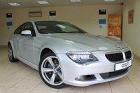 2011 BMW 6 SERIES 3.0 630I SPORT 2d AUTO 269 BHP £14450.00