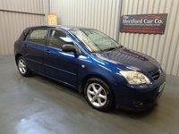 2004 TOYOTA COROLLA 1.6 T2 VVT-I 5d AUTO 109 BHP £1995.00