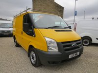 2011 FORD TRANSIT 115T 300 ex-AA TAILGATE VAN WITH AIR-CON, £4750.00
