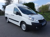 USED 2016 16 PEUGEOT EXPERT 1200 L2H2 LWB HIGHTOP 2.2TDCI BIG 130 BHP Rare High Top Peugeot Expert With Ultimate Specification! Direct From Leasing Company First Class Example!