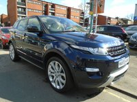 USED 2015 15 LAND ROVER RANGE ROVER EVOQUE 2.2 SD4 DYNAMIC LUX 5d AUTO 190 BHP 1 OWNER, TV, PAN ROOF