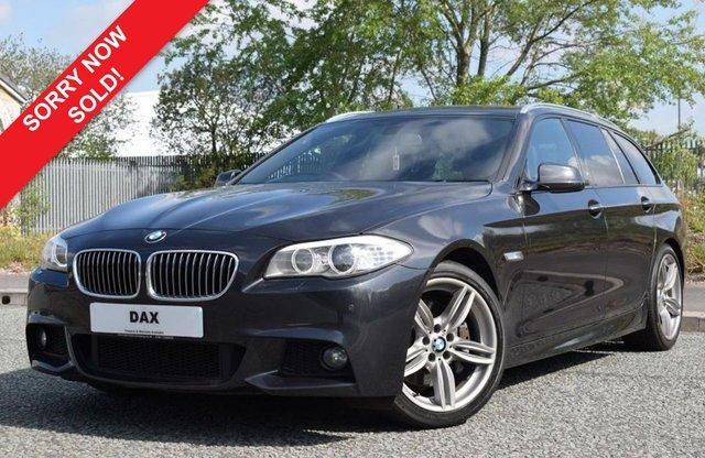 2012 62 BMW 5 SERIES 2.0 525D M SPORT TOURING 5d AUTO 215 BHP