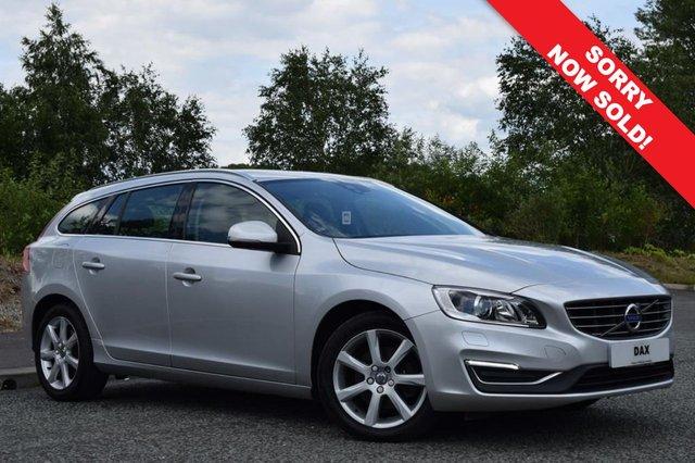 2015 65 VOLVO V60 2.0 D4 SE LUX NAV 5d 188 BHP
