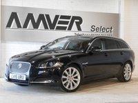 USED 2015 15 JAGUAR XF 2.2 D PORTFOLIO SPORTBRAKE 5d AUTO 200 BHP