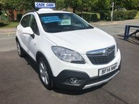 USED 2014 14 VAUXHALL MOKKA 1.6 EXCLUSIV S/S 5d 113 BHP Buy with confidence from a garage that has been established  for 26 years.