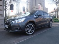 2015 CITROEN DS4 1.6 E-HDI DSTYLE AIRDREAM 5d AUTO 115 BHP £8995.00