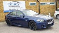 2015 BMW 5 SERIES 2.0L 520D M SPORT 4d AUTO 188 BHP £15484.00