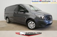 USED 2017 67 MERCEDES-BENZ VITO 1.6 111 CDI 114 BHP LONG (ONE OWNER, GREY METALLIC) * RARE METALLIC GREY PAINT * WE DON'T CHARGE ADMIN FEES *