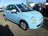 2015 FIAT 500 1.2 COLOUR THERAPY 3d 69 BHP £4695.00