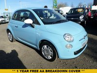 USED 2015 64 FIAT 500 1.2 COLOUR THERAPY 3d 69 BHP
