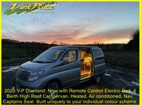 USED 2005 05 NISSAN ELGRAND VP-Diamond 2.5 Automatic,4WD,49k Campervan +2020 V-P Diamond.Electric Bed!+4 Berth+Pop-Top+Heater+Air Con+