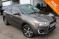 USED 2014 64 MITSUBISHI ASX 2.3 DI-D 4 5d AUTO 147 BHP VIEW AND RESERVE ONLINE OR CALL 01527-853940 FOR MORE INFO.