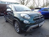 USED 2017 67 FIAT 500L 1.4 CROSS 5d 95 BHP Low Mileage, One Previous Owner, Balance of Fiat Warranty until December 2020, MOT until December 2020