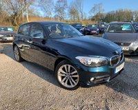 2016 BMW 1 SERIES 1.5 116D SPORT 5d 114 BHP £10989.00